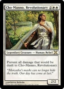 Magic the Gathering Tenth Edition Single Card Rare #12 Cho-Manno, Revolutionary