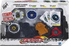 Beyblades Legendary Bladers 3-Pack Descendants  [Scythe Kronos, Variares & Jade Jupiter]