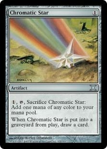Magic the Gathering Tenth Edition Single Card Uncommon #314 Chromatic Star