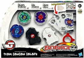 Beyblades Team Gangan Galaxy Pack Set [Galaxy Pegasus, Ray Striker & Earth Eagle]