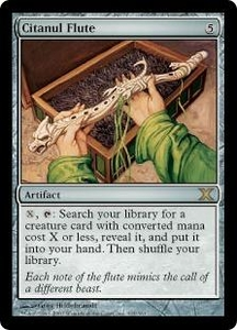 Magic the Gathering Tenth Edition Single Card Rare #315 Citanul Flute