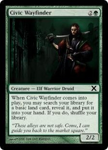 Magic the Gathering Tenth Edition Single Card Common #255 Civic Wayfinder