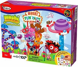 Moshi Monsters Exclusive Activity Puzzle Roller Coaster