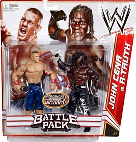 Mattel WWE Wrestling Basic Series 13 Action Figure 2-Pack John Cena & R-Truth