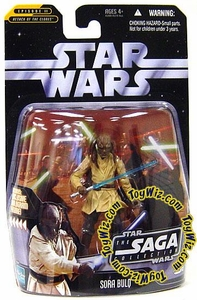 Star Wars Saga 2006 Basic Action Figure #15 Sora Bulq