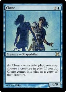Magic the Gathering Tenth Edition Single Card Rare #73 Clone
