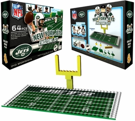 OYO Football NFL Generation 1 Team Field Endzone Set New York Jets
