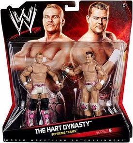 Mattel WWE Wrestling Basic Series 9 Action Figure 2-Pack Tyson Kidd & DH Smith [Hart Dynasty]
