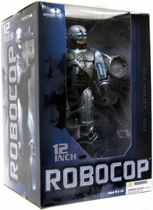 McFarlane Toys Movie Maniacs 12 Inch Deluxe Action Figure Robocop [Battle Damaged]