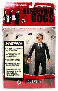 Mezco Toys Reservoir Dogs Action Figure Mr. White