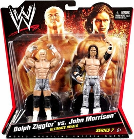 Mattel WWE Wrestling Basic Series 7 Action Figure 2-Pack Dolph Ziggler & John Morrison [Ultimate Rivals] BLOWOUT SALE!
