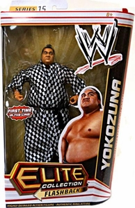 Mattel WWE Wrestling Elite Series 15 Action Figure Yokozuna [Ceremonial Robe!]