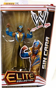 Mattel WWE Wrestling Elite Series 15 Action Figure Sin Cara [Blue & Gold Entrance Cloak!]