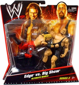 Mattel WWE Wrestling Basic Series 3 Action Figure 2-Pack Edge & Big Show [Ultimate Rivals]