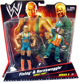 Mattel WWE Wrestling Basic Series 2 Action Figure 2-Pack Finlay & Hornswoggle[Family Fury]