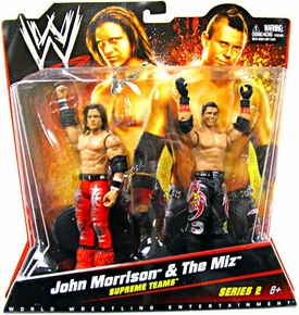 Mattel WWE Wrestling Basic Series 2 Action Figure 2-Pack John Morrison & The Miz [Supreme Teams]