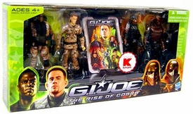 GI Joe Movie The Rise of Cobra Exclusive 3 3/4 Inch Action Figure 4-Pack GI Joe Vs. Cobra  [Duke, Heavy Duty, M.A.R.S. Weapons Officer & Neo-Viper]