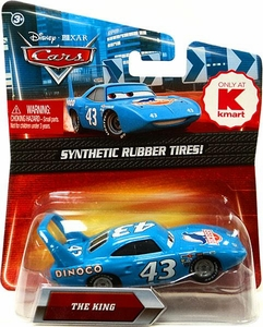 Disney / Pixar CARS Movie Exclusive 1:55 Die Cast Car with Synthetic Rubber Tires King