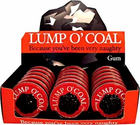 Candy Tin Lump O' Coal [Coal Shaped Gum]