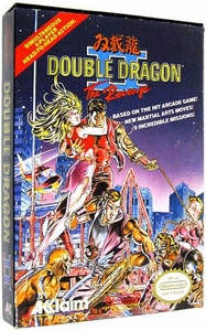 Nintendo Entertainment System NES Complete Opened Cartridge Games Double Dragon II: The Revenge