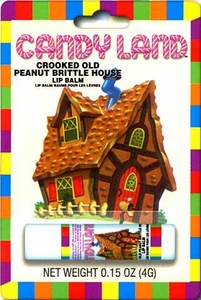 Candy Land Lip Balm Crooked Old Peanut Brittle House