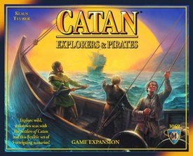 Settlers of Catan Explorers & Pirates Expansion