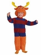 The Backyardigans #6334 Tyrone Deluxe Plush Costume (Child Toddler 2T Size)