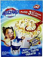 DQ [Dairy Queen] Blizzard Maker Refill Pack