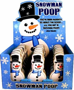 Candy Tin Snowman Poop [Fruity Jelly Beans]