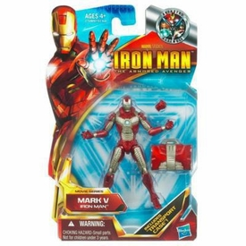 Iron Man 2 Movie 4 Inch Action Figure Iron Man Mark V [New Version]