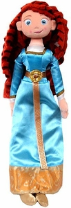 Disney / Pixar BRAVE Movie Exclusive 20 Inch Soft Plush Doll Merida [Light Blue Dress]