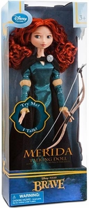 Disney / Pixar BRAVE Movie Exclusive 17 Inch Talking Doll Merida