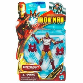 Iron Man 2 Movie 4 Inch Action Figure #43 Reactor Shift Iron Man [Mark IV to Mark VI]
