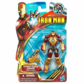 Iron Man 2 Concept 4 Inch Action Figure #46 Iron Man [Storm Surge Armor]