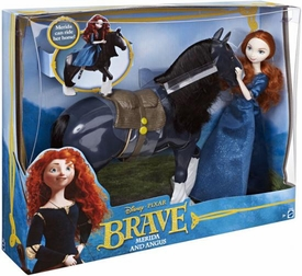 Disney / Pixar BRAVE Movie Figure 2-Pack Merida & Angus the Horse
