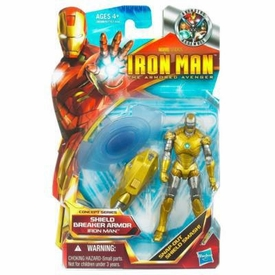 Iron Man 2 Concept 4 Inch Action Figure #01 Iron Man [Shield Breaker Armor]