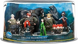 Disney / Pixar BRAVE Movie Exclusive 10 Piece Deluxe PVC Figurine Set