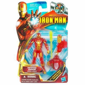 Iron Man 2 Concept 4 Inch Action Figure #03 Iron Man [Inferno Armor Redeco]