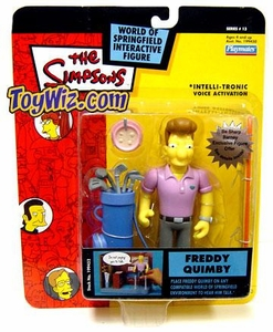 The Simpsons Series 13 Playmates Action Figure Freddy Quimby