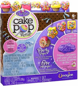 Umagine Cool Baker Cake Pop Party Pops Refill
