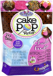 Umagine Cool Baker Cake Pop Refill Chocolate Fudge