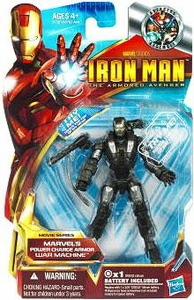 Iron Man 2 Movie 4 Inch Action Figure #41 Power Charge War Machine