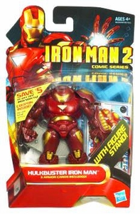 Iron Man 2 Comic 4 Inch Action Figure #27 Hulkbuster Iron Man