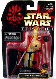 Star Wars Phantom Menace Sith Accessory Set