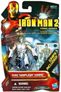 Iron Man 2 Comic 4 Inch Action Figure #37 Ivan