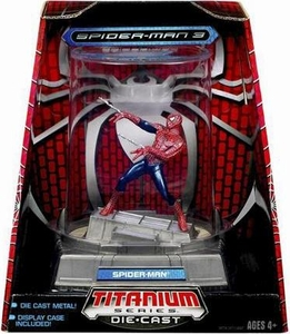 Spider-Man 3 Hasbro Titanium Series Die-Cast Spider-Man