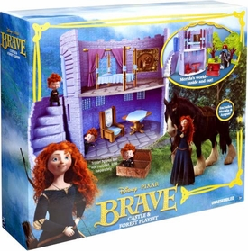 Disney / Pixar BRAVE Movie Playset Castle & Forest