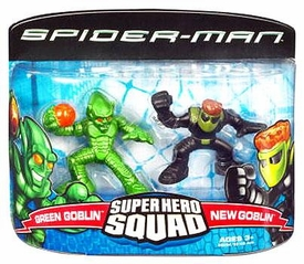 Spider-Man Super Hero Squad Green Goblin & New Goblin
