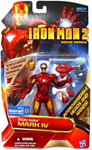 Iron Man 2 Movie Series Exclusive 6 Inch Action Figure Mark IV [Interchangeable Heads & Hands]