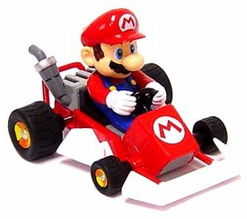 Super Mario Kart BanPresto Mini Figure Mario in Go-Kart
